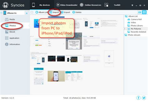 how to import photos from iphone to computer pc to iphone transfer transfer photos from