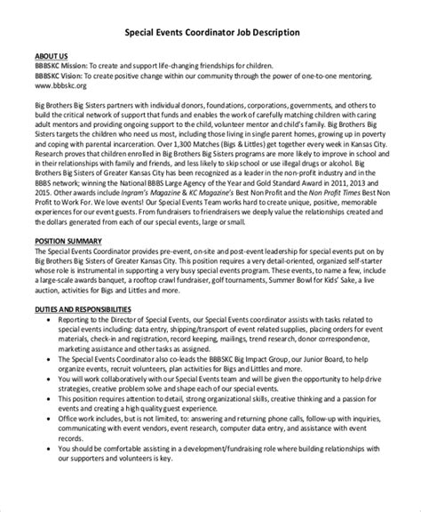 10+ Event Coordinator Job Description Samples  Sample. Cover Letter For Resume With No Experience. How To List A Reference On A Resume. Coaching Objectives For Resume. Sample Resume For Bank Jobs. Good Resume Formats For Experienced. Resume Format For Job. Qualifications To Put On Resume. Interactive Resume Builder