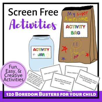 Distance Learning Boredom Busters 120 Screen Free