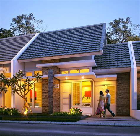 rumah minimalis type   lantai desain fasad rumah