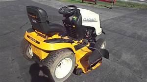 Cub Cadet 54 U0026quot  Super Lt 1554 Yard Tractor Lawn Mower 27 Hp