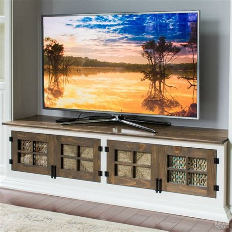 diy built  media console  navage patch