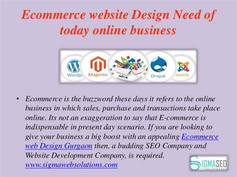 ecommerce website design company web designing company in gurgaon seo services gurgaon
