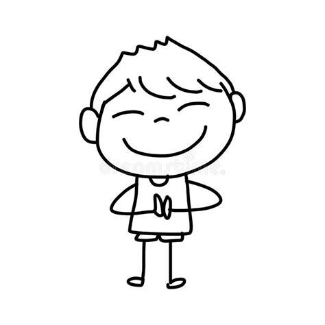 immagini di bambini felici bambini felici fumetto disegno della mano
