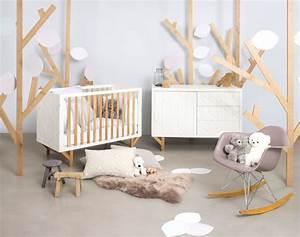 Chambre Bebe Design Scandinave : lit de b b 15 mod les tendance c t maison ~ Teatrodelosmanantiales.com Idées de Décoration