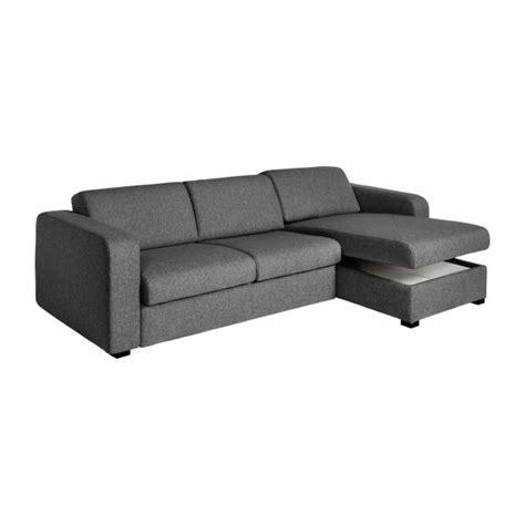canapé lit avec rangement porto 3 canapé lit 2 places en tissu avec angle
