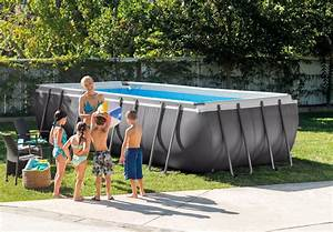 Stahlwandpool 120 Tief : frame pool set ultra quadra 549x274x132 cm ~ Articles-book.com Haus und Dekorationen