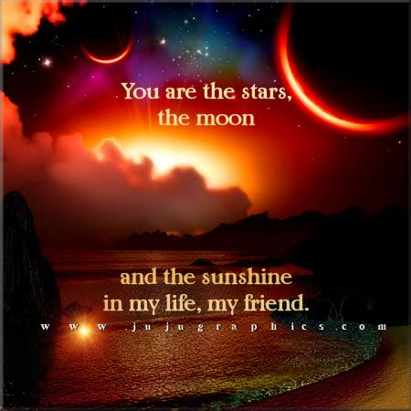 stars  moon   sunshine   life