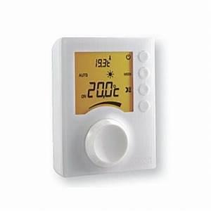 Thermostat D Ambiance Filaire : thermostat d 39 ambiance m canique filaire tybox 31 molette ~ Melissatoandfro.com Idées de Décoration