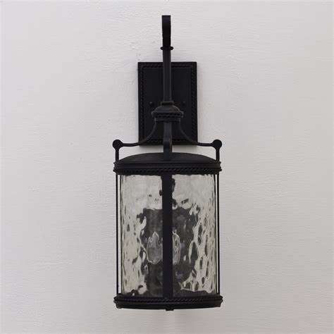 7710 3 contemporary wrought iron outdoor light