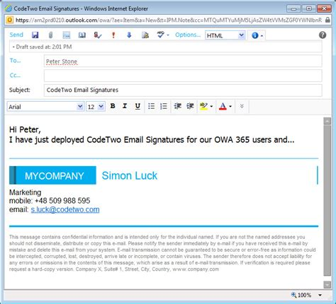 Office 365 Mail Footer by How To Auto St Outlook Office 365 Nd Apps