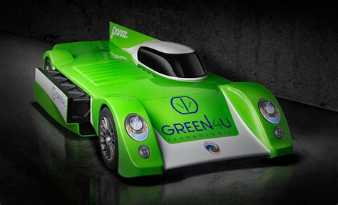 greenu electric race car revealed targets le mans