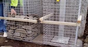 Kit A Gabion : gabion stone pillars and columns fences gate post supplies usa ~ Premium-room.com Idées de Décoration