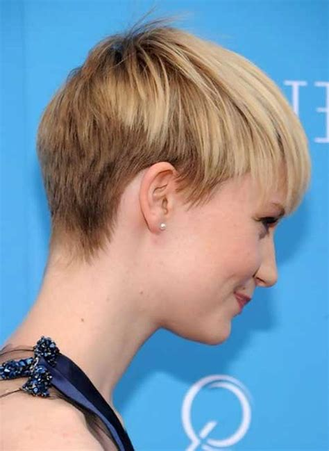 Pixie Hairstyles Back View by Cool Back View Undercut Pixie Haircut Hairstyle Ideas 50