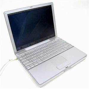 "APPLE POWERBOOK G4 12"" SILVER 10.4.2 LAPTOP A1104 MAC OS X ..."