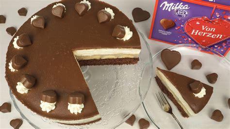 milka herz torte von evasbackparty chefkochde