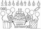 Coloring Birthday Happy Pages Printable Sheets Printables Messages Dad Cool2bkids sketch template