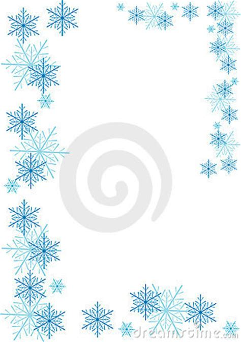 snowflake banner clipart clipart suggest