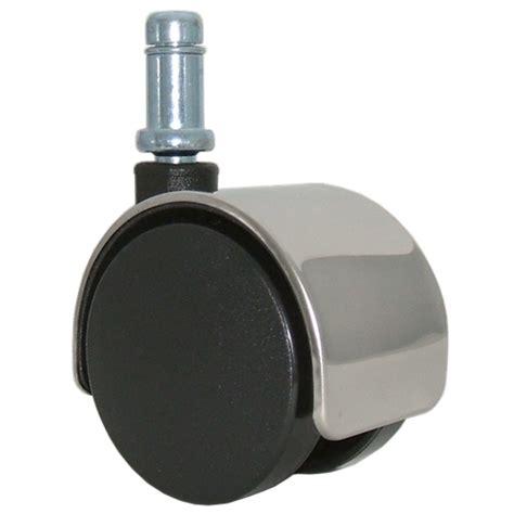 chair caster wheels chrome