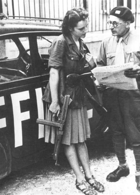 vintage   beautiful female partisans
