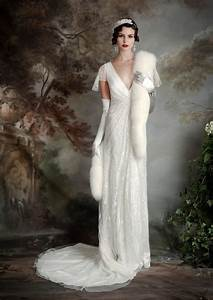 eliza jane howell elegant art deco inspired wedding With art deco wedding dresses