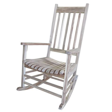 solid acacia porch rocker furniture barn usa