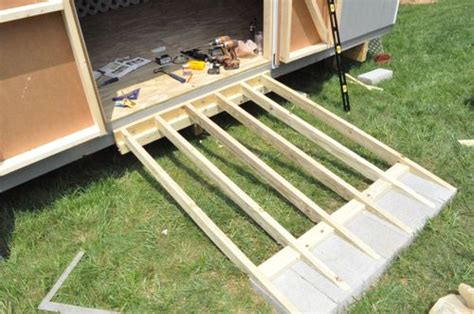 build  shed ramp  project closer