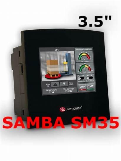 Samba Sm35 Plc Unitronics Hmi