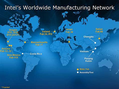 Intel-Worldwide-Manufacturing-Network | Intel Newsroom