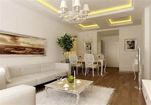 Living room and dining room ceiling light design image