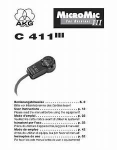 Smart Bedienungsanleitung 451 : akg c 411 pp mikrofon ~ Eleganceandgraceweddings.com Haus und Dekorationen