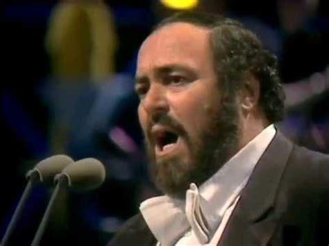 Luciano Pavarotti Portrait