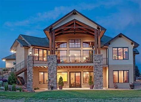 trending basement makeovers id mountain house plans house designs exterior dream