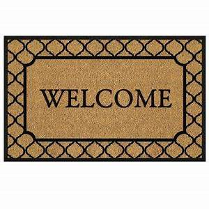 Door Mats & WELCOME DOORMATS
