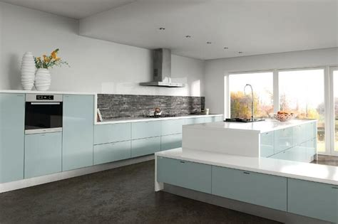 blue kitchen designs zurfiz kitchen in metallic blue lark larks 1733