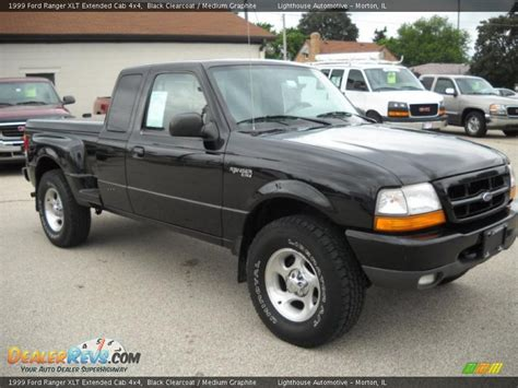 1999 ford ranger xlt extended cab 4x4 black clearcoat medium graphite photo 6 dealerrevs