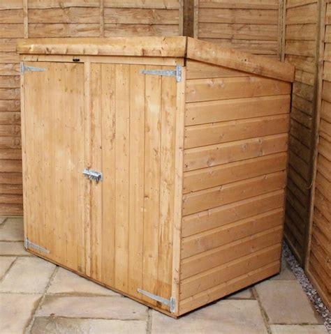 Wooden Garden Storage by Mercia Pent Wooden Mower Store Garden Storage Unit