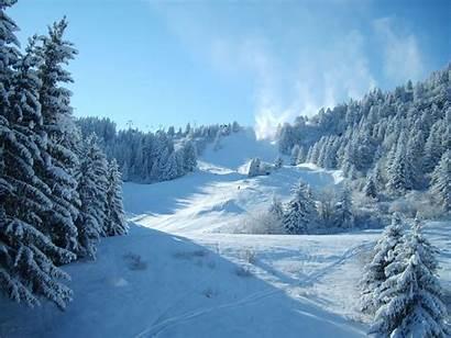 Winter Beauty Nature Wallpapers Desktop Season Natural