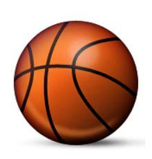 ios emoji basketball  hoop