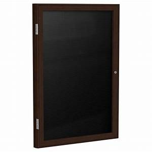 ghent enclosed letter boards with wood frame schoolsin With letter board wood