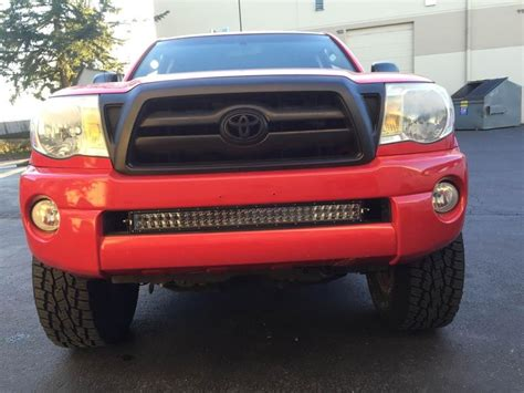 30 quot led light bar install in lower valance tacoma world