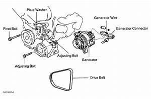 1998 Lexus Es 300 Serpentine Belt Routing And Timing Belt