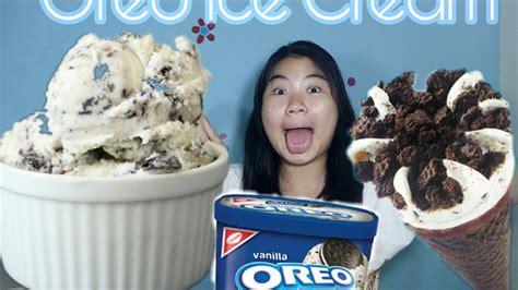 Apabila semua bahan yang dibutuhkan sudah terkumpul, sekarang kita bisa langsung mengolahnya. Cara Membuat Es Krim Oreo!! | How To Make Homemade Creamy Oreo Ice Cream!! - YouTube