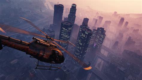 Halo 5 Guardians Wallpaper Hd Hintergrundbilder Helikopter Gta 5 Sky Grand Theft Auto V Desktop Hintergrund