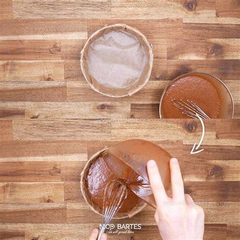 gesunder  carb schoko kirsch kuchen ohne nuesse nico
