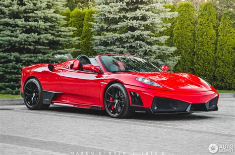 Ferrari F430 Spider Super Veloce Racing  28 August 2016