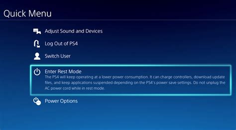 Ps4 Suspend Resume Power Consumption by On Ps4 Firmware 2 50 With Suspend And Resume 60fps Remote Play Extremetech
