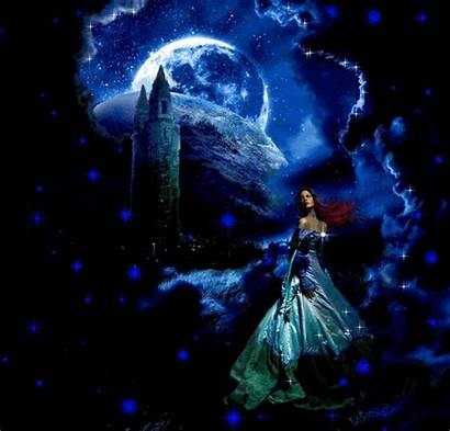 Fantasy Gb Gifs Fantaisie Noite Animados Boa