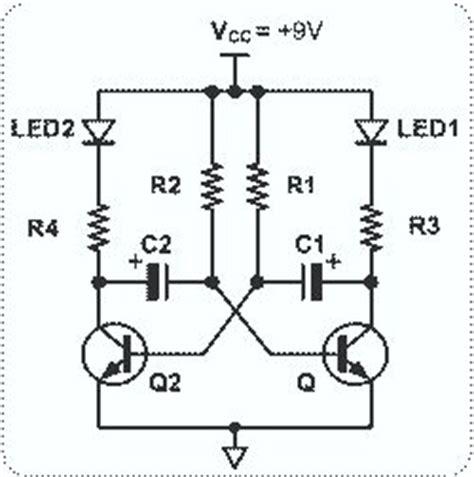 Astable Multivibrator With Transistors Circuit Diagram World