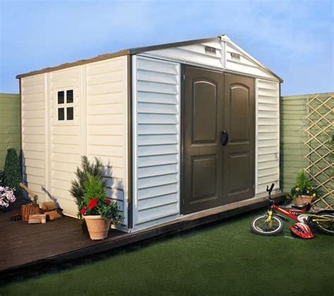 10 x 10 resin shed billyoh woodside 8 x 10 plastic shed inc foundation kit